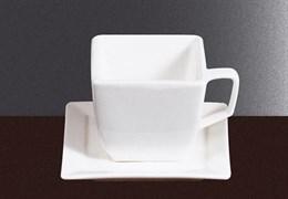 Чашка кофейная квадратная Fairway 120 мл (фарфор)