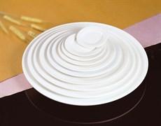 Тарелка обеденная с бортом Fairway 23 см (фарфор)