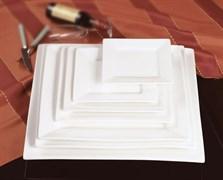 Тарелка обеденная плоская с бортом Fairway 25,5 см (фарфор)