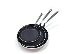 Сковорода алюминиевая EKSI Special D=30 см (с антипригарным покрытием)