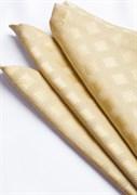 Салфетка Astinn Rombo (золото) 45x45 см (подгиб 2 см)