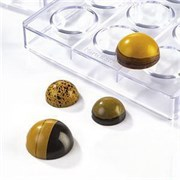 Форма для шоколада Martellato MA1981 (полусфера)