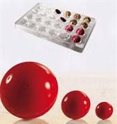 Форма для шоколада Martellato MA5000 (полусфера)