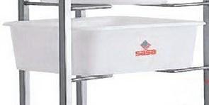 Бак для теста SASA 20 л (прямоугольный)