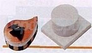 Выталкиватель из формы Paderno (запятая) 1 шт