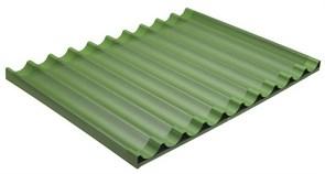 Лист для багета 600х800 мм Bassanina (8 волн, перфорация, тефлон)