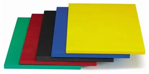 Доска разделочная 50х35х1,8 см MVQ (зеленая)