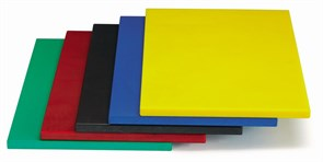 Доска разделочная 60х40х1,8 см MVQ (желтая)