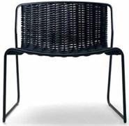 Стул RANDA/P (каркас - металл, плетеные сиденье и спинка)
