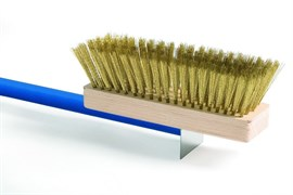 Щетка для чистки печи 20х6,5 см ItPizza AC-SP/120 (ручка 130 см)